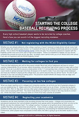 College Baseball Recruiting Process