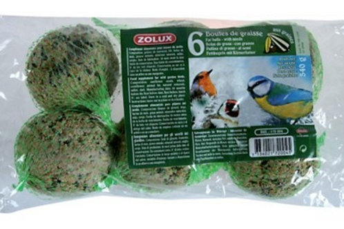 Boules de graisse 90g X6 - Zolux