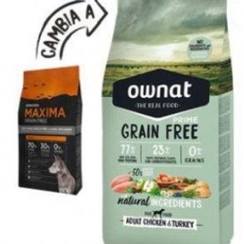 Ownat Prime Grain Free Poulet Dinde