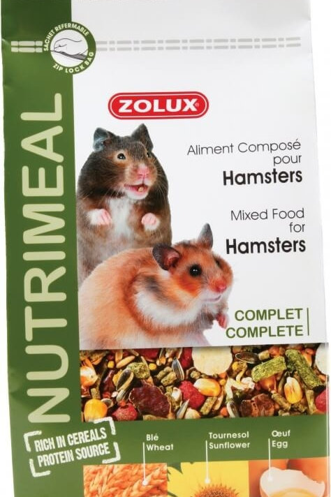 Nutrimeal hamsters 600g - Zolux