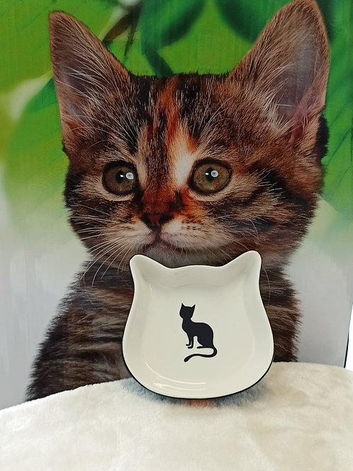 Gamelle céramique forme chat 220ml