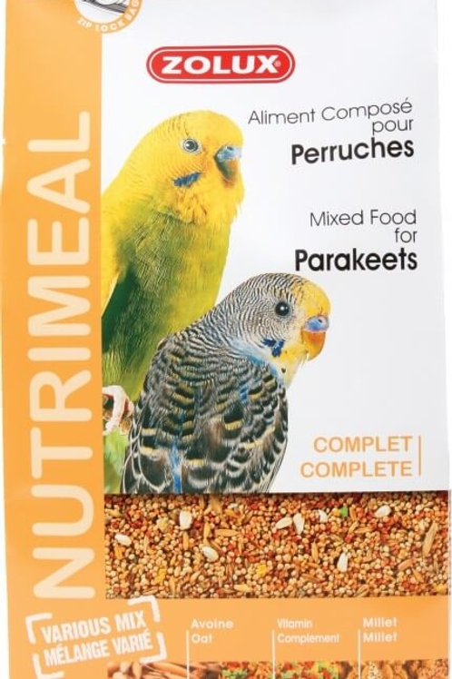 Nutrimeal Zolux Perruches 800gr