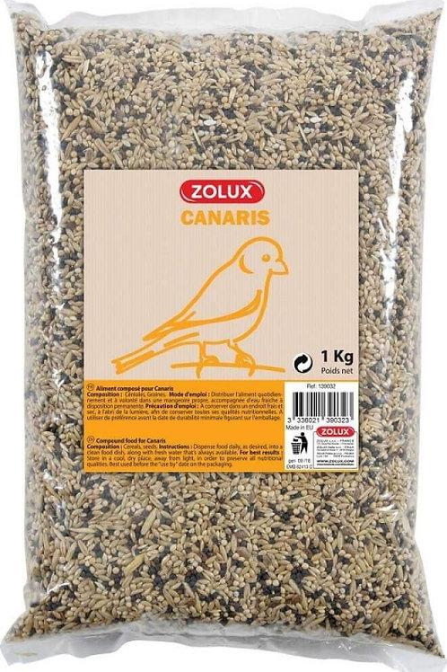 Graines pour canaris Zolux sac 1kg ou 5kg