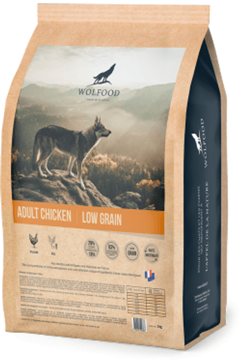 Wolfood Adult Chicken 3kg ou 14kg