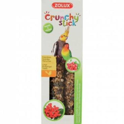 Crunchy stick grandes perruches groseille sorbier