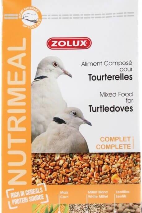 Nutrimeal Zolux Tourterelles 800g