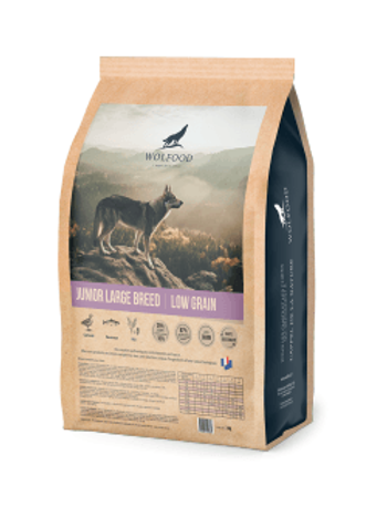Wolfood Junior Large Breed 3kg ou 14kg