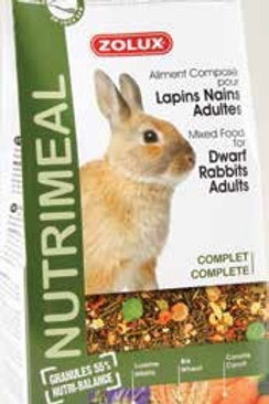 Nutrimeal Lapins nains adultes 800g ou 2.5kg - Zolux