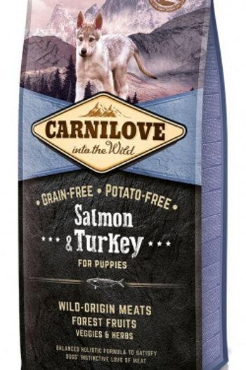 Carnilove Chiot Saumon et Dinde 12KG