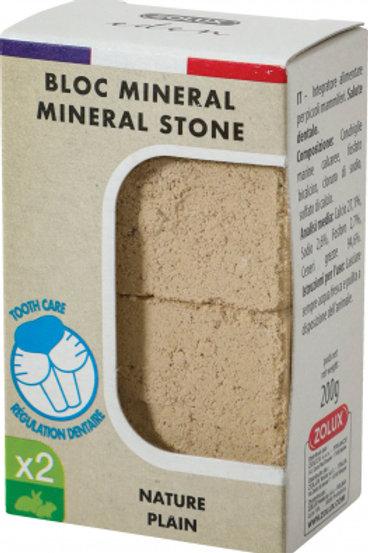 Bloc minéral Nature - pierres à ronger (x2) Eden - Zolux