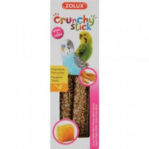 Crunchy stick perruches millet miel Zolux