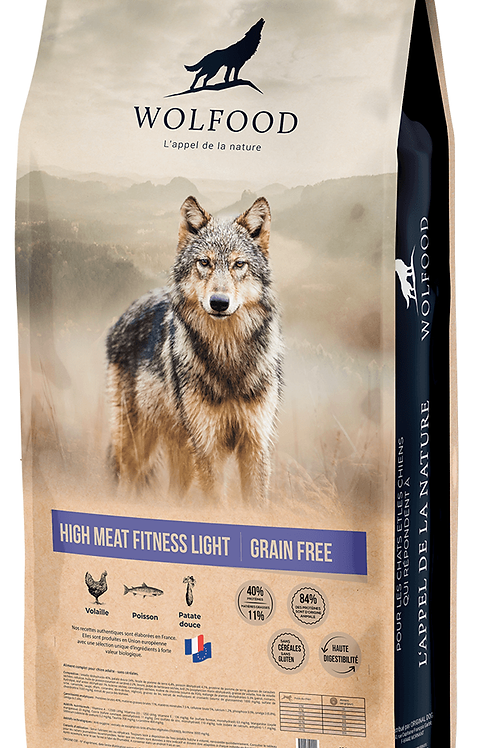 Wolfood High Meat Fitness