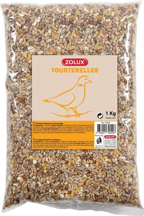 Graines pour tourterelles Zolux sac 1kg ou 5kg