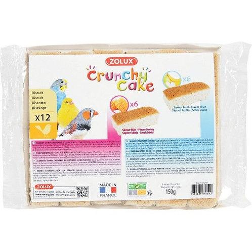 Crunchy cake miel fruits X12 Zolux