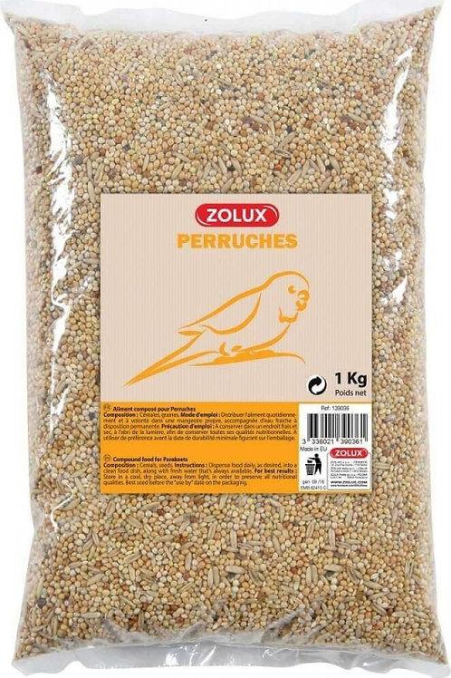 Graines pour perruches Zolux sac 1kg ou 5kg
