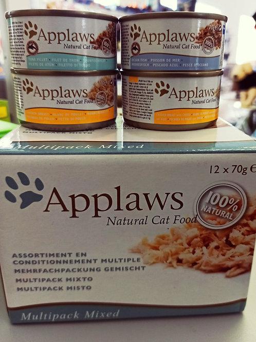 Boîte pâtée chat Applaws 12x70g