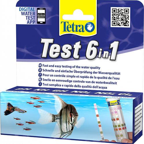 Tetra test 6 en 1 10 bandelettes