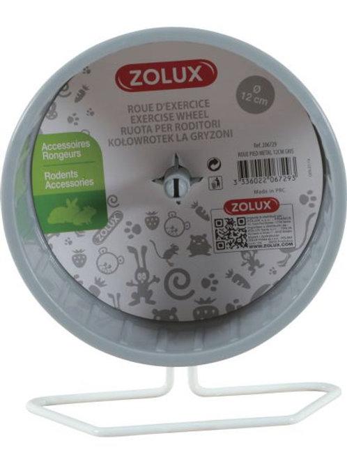 Roue pied métal 12cm pour rongeurs - Zolux