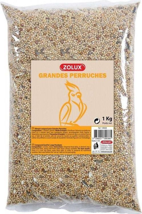 Graines pour grandes perruches Zolux sac 1kg ou 5kg