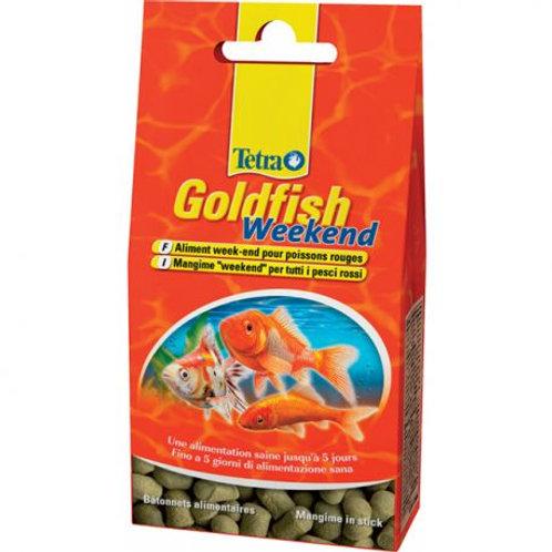 Tetra Goldfish weekend 40 sticks pour poissons rouges - Zolux