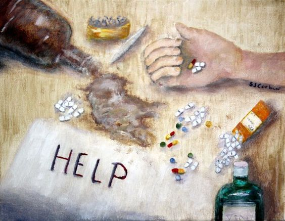 Substance Abuse Recovery Art