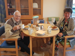 Good food, noisy TVs, busy staff: what I learned from my stay in a care home