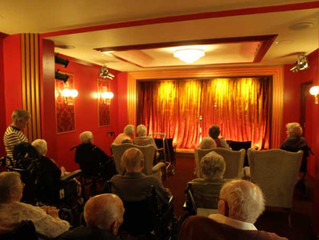 Dorset care home builds 40-seat theatre to entertain residents