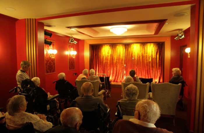 The theatre in Burwood Nursing Home, Broadstone