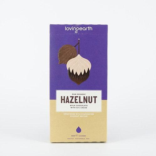 Hazelnut Mylk Chocolate by Loving Earth