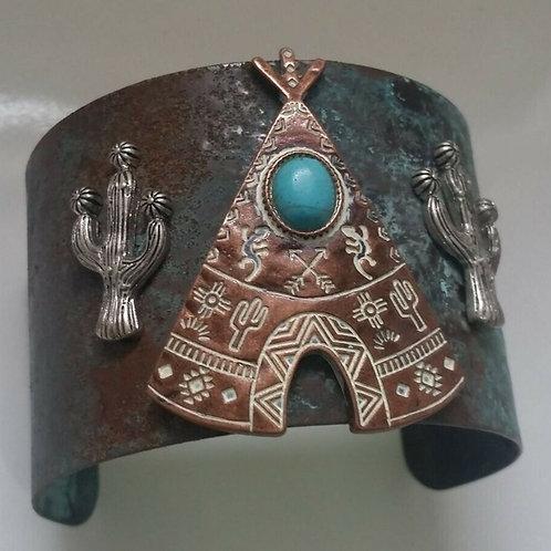 Southwestern Cuff Bracelet