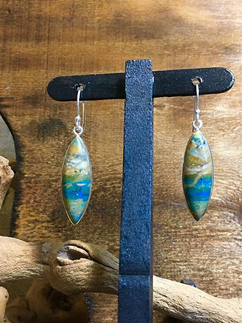 Desert Sky Peruvian Blue Opals