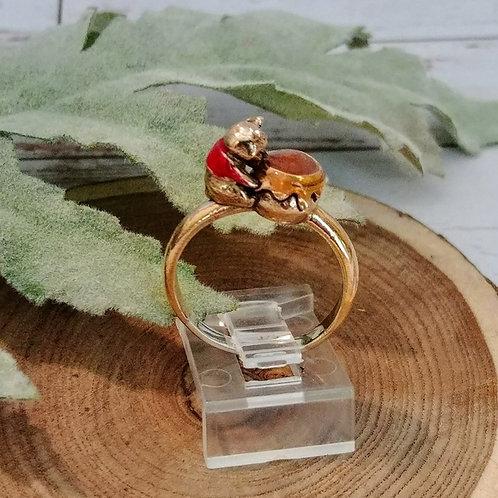 Artisan Honey Bear Sterling Ring