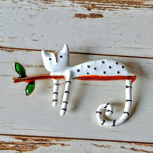 Cute Cat Pin