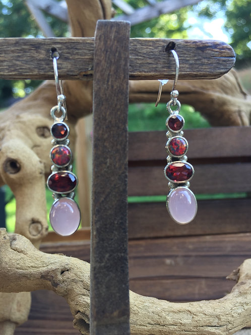 Victorian Days Gemstone Earrings