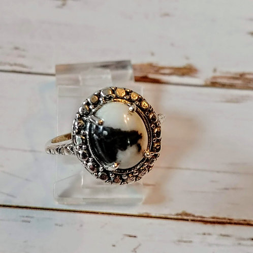 Zebra Jasper Ring