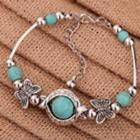 Butterfly Turquoise Fashion Bracelet
