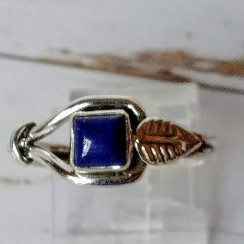 Lapis Lazuli Artisan Sterling Ring