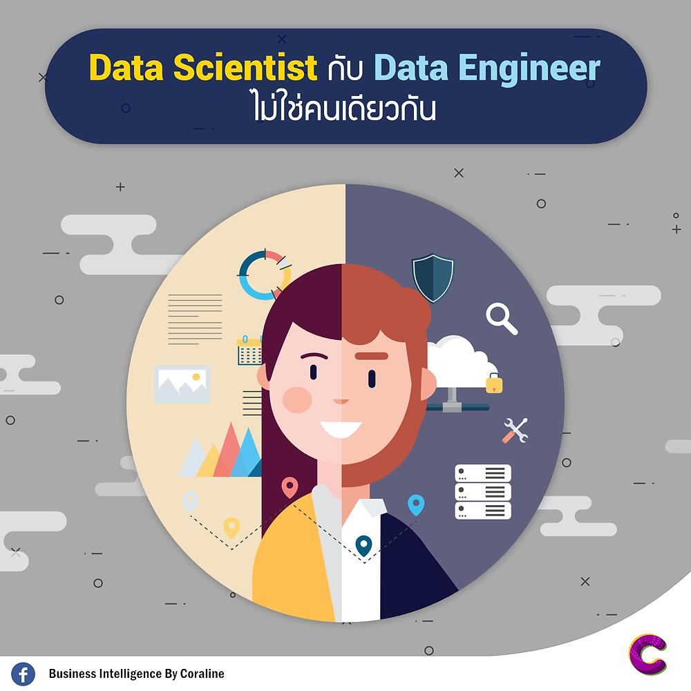 Data Scientist กับ Data Engineer