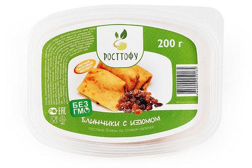 Блины с тофу и изюмом 200г