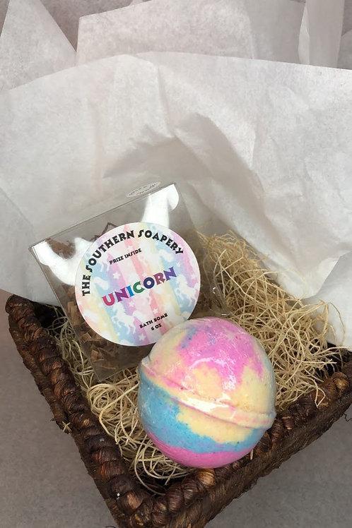 Unicorn Prize Bath Bomb