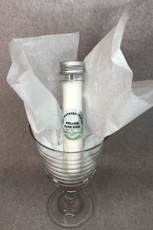 Breathe Bath Fizz Tube