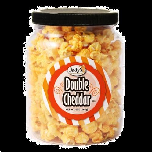 Double Cheddar Popcorn Jar