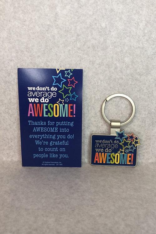 'We Do Awesome' Key Chain