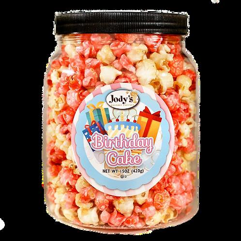 Birthday Cake Popcorn Jar