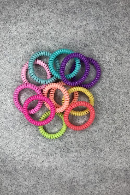 Medium Skinny Spiral Hair Tie