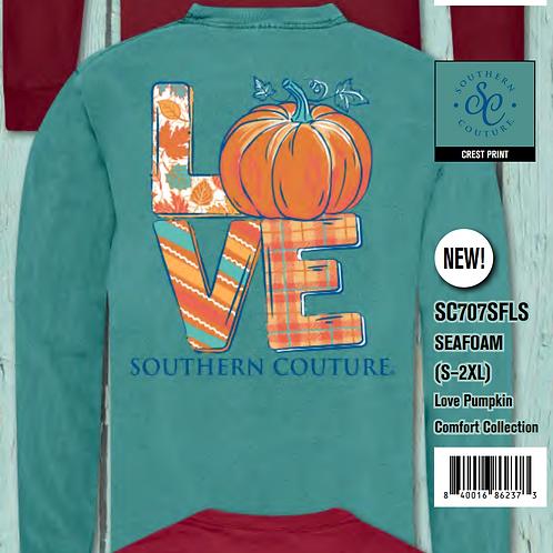 'Love' Pumpkin