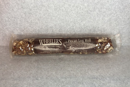 Wheelers Pecan Log Roll