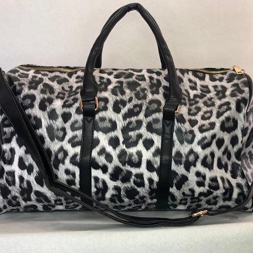 Leopard Duffle