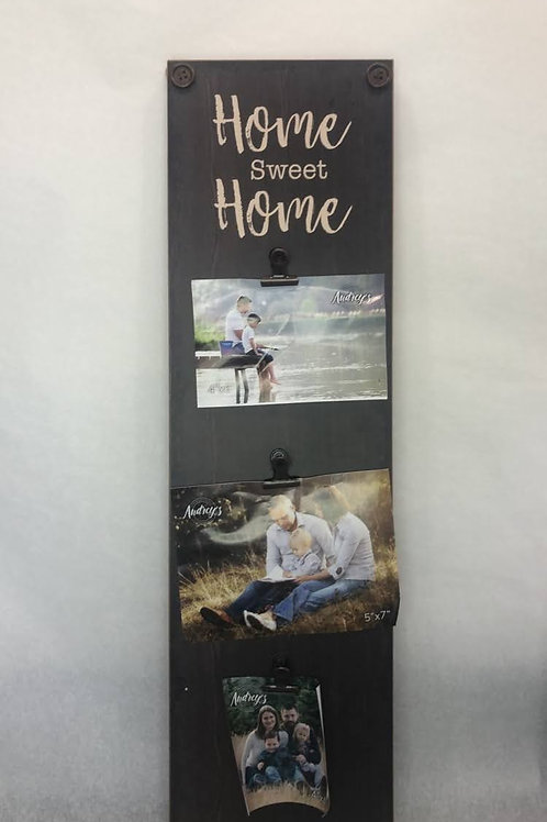 Wooden Sign Picture Display