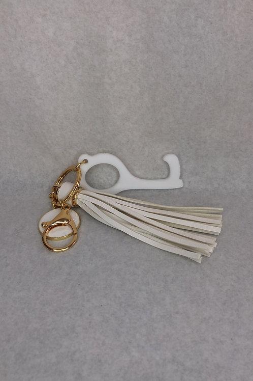 Hands Free Tassel Keychain Device